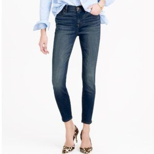J Crew Tall Lookout High Rise Skinny Jeans Crop